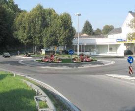 Geplanter Kreisel an der Linde/ B9 in Sinzig